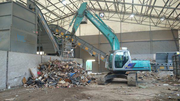 Colectarea deșeurilor din construcții și demolări